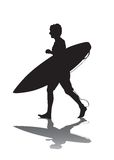 Surf Run 1 Royalty Free Stock Photography