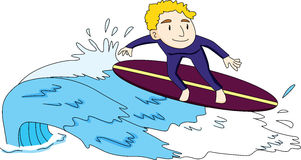 Surf's up Stock Images