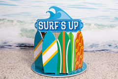 Surf's Up Stock Photo