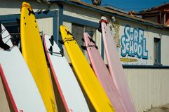 Surf school Stock Photos