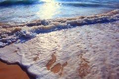 surf sea sand wave Stock Photography