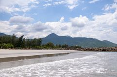 Surf on the South China Sea. Stock Photography