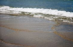 Surf on the South China Sea. Stock Images