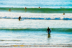 Surf spot Royalty Free Stock Image