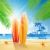 Surf summer Stock Images
