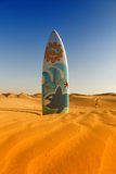 Surf table and desert Stock Photo
