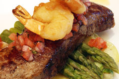 Surf and turf Royalty Free Stock Photography