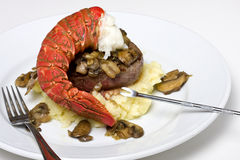 Surf and turf Stock Images