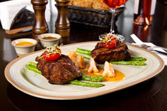 Surf and turf Stock Photos