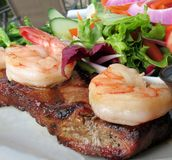 Surf and Turf Royalty Free Stock Photos