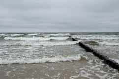 Surf on Usedom Royalty Free Stock Photos