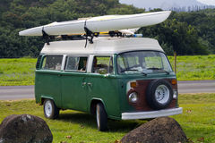 Surf Van Royalty Free Stock Photography