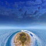 Surfa öfantasivärlden royaltyfri fotografi