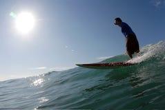 Surfa arkivfoto