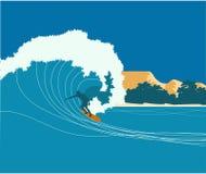 surfa för bakgrund Royaltyfri Foto