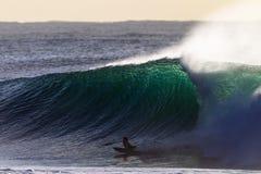 Surfa för Boarder för huvuddel för Wave för panelljusfärg stort Royaltyfria Foton