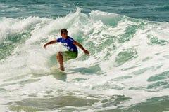 Surfa för våg Royaltyfri Foto