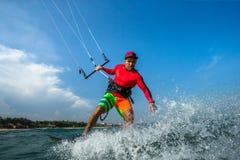 Surfa för drake Royaltyfri Foto