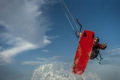 Surfa för drake Fotografering för Bildbyråer