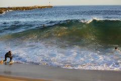 Surfa kilen Arkivbilder
