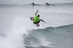 Surfa konkurrens William Alotti (St Martinque) royaltyfria foton