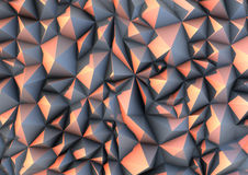 Abstract Stone Background. Abstract surface composed of irregular triangular shape Stock Images