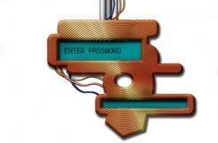 surface adjacente 3D de pointe Photos libres de droits