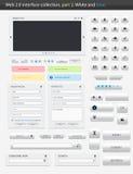 Surface adjacente part2 du Web 2.0. Images libres de droits
