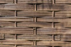 Surface background of bamboo weave. A Surface background of bamboo weave Royalty Free Stock Photos