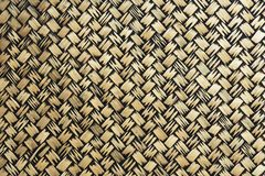 Surface of bamboo weave background Stock Image