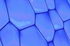Surface of Beijing Olympic Water Cube, China Royalty Free Stock Images