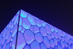 Surface of Beijing Olympic Water Cube, China Royalty Free Stock Photo