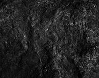 The surface black coal. The surface of the black coal Royalty Free Stock Photography