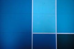 Surface bleue Images libres de droits