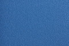 Surface of blue sandpaper Royalty Free Stock Image