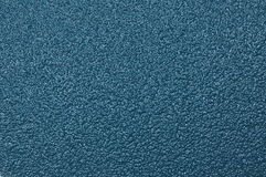 Surface of blue sandpaper Royalty Free Stock Photos