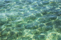 Surface of blue sea. Beautiful surface of sea in Thailand. Clear water Stock Photography