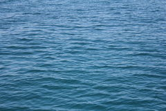 Surface of blue sea. Beautiful blue sea in Thailand. clear water Stock Photo