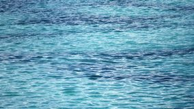 Surface of blue water. Surface of blue clear water stock footage