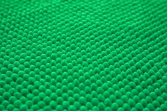 Surface of brand-new soft bathroom mat Royalty Free Stock Photo