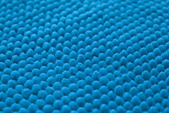 Surface of brand-new soft bathroom mat Royalty Free Stock Photos