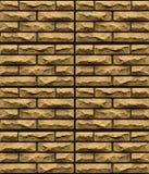 Surface of brick wall Royalty Free Stock Image