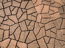 The surface of the brick pavement. The surface of the brown brick pavement Royalty Free Stock Photography