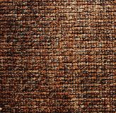Surface of brown carpet coverage Royalty Free Stock Images