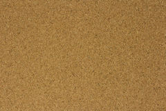 Surface of brown cork board for the background Royalty Free Stock Photography