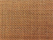 Surface of Brown Wicker texture for background. Closeup beautiful texture from small rattan stock photo