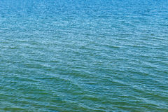Surface of the calm, summer sea. top view Stock Photo