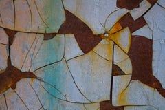 Surface cassée de beau fond coloré photos libres de droits