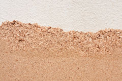 Surface of ciment and fiberboard from bagasse Stock Image