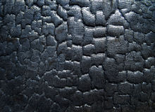 The surface of the coal. The surface of the black coal Royalty Free Stock Photo